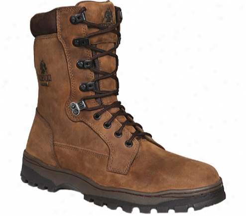Rocky Outback Plain Toe Boot 8732 (men's) - Brown