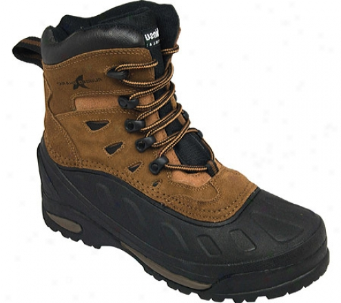 Rugged Shark Avalanche (men's) - Mustang Brown Suede Leather