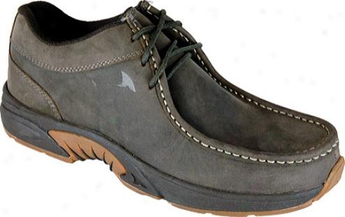 Wrinkled Shark Mackinaw (men's) - Verdant Brown Leather