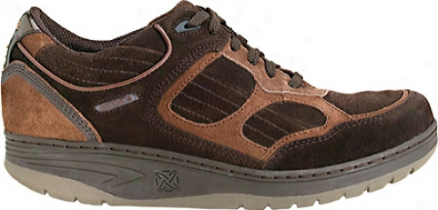 Sano By Mephisto Ranger (men's) - Dark Brown/tan Suede