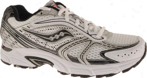 Saucony Grid Cohesion 4 (men's) - White/black/red
