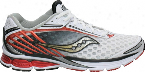 Saucony Powergrid Cortana (men's) - White/red
