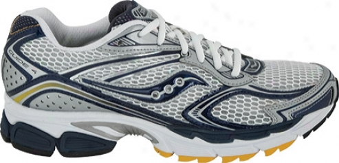 Saucony Progrid Guide-book 4 (men's) - White/navy