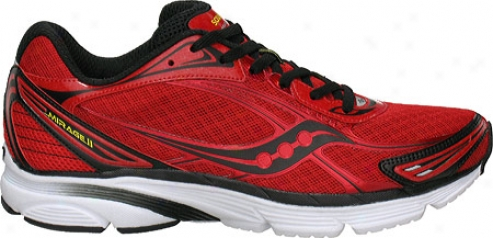 Saucony Progrid Mirage 2 (men's) - Redlack/yellow