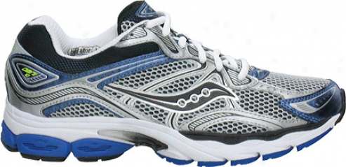 Saucony Progrid Omni 10 (men's) - Silver/royal