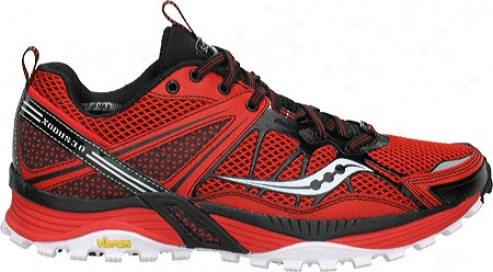 Saucony Progrid Xodus 3.0 (men's) - Red/black/white