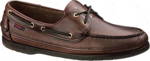 Sebago Schooner (men's)  -Brown Oiled Waxy