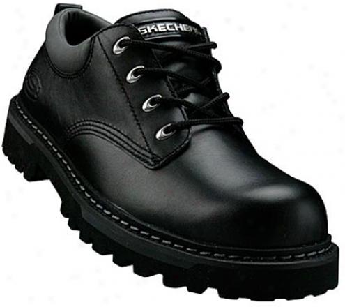 Skechers Cool Cat (men's) - Black Full Grzin Leather (bpfg)