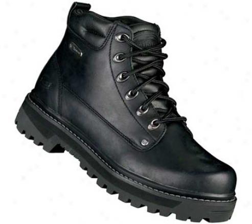 Skechers Mariners Pilot (men's) - Black Oily Leather
