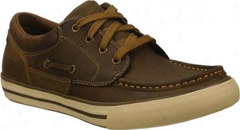 Skechers Planfix Creons (mrn's) - Dark Brown