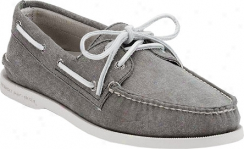 Sperry Top-sider Authentic Original 2-eye (men's) - Olive Canvas