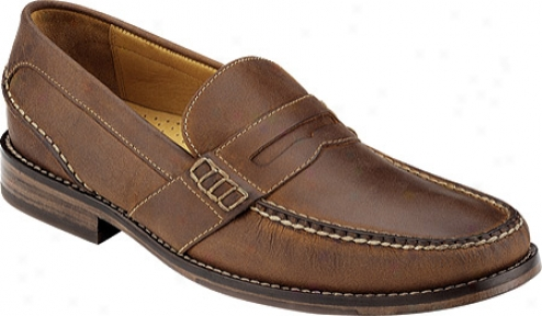 Sperry Top-sider Dress Casual Penny (men's) - Chestnut Leather