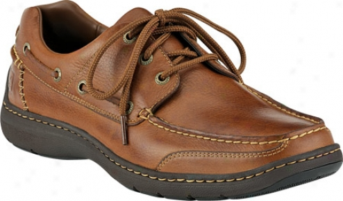 Sperry Top-sider Frisci 3-eye (men's) - Tan Leather