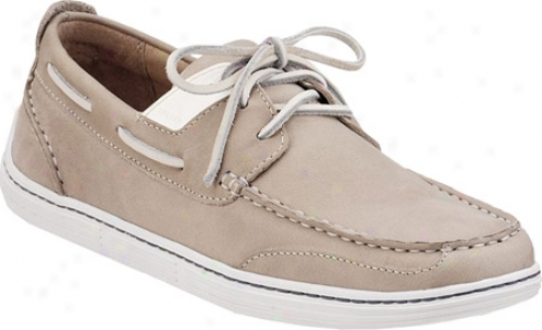 Sperry Top-sider Harbor Cup 3-eye (men's) - White Leather