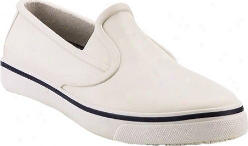 Sperry Top-sider Rubber Slip On (men's) - White Rubber