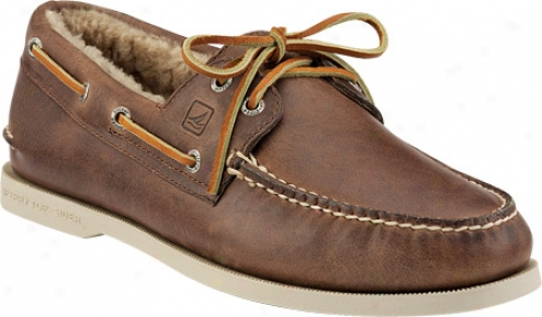Sperry Top-sider Winter A/o (men's) - Brown Suede