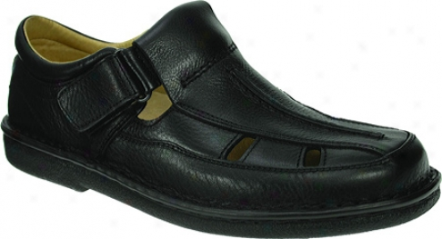 Leap Step Ray (men's) - Black Leather