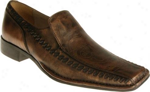 Stacy Adams Dare 24539 (men's) - Brown Metallic Leather