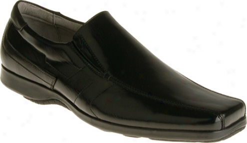 Stacy Adams Quest 24546 (men's) - Black Smooth Leather