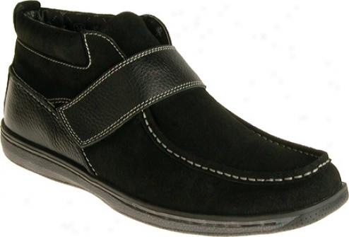 Stacy Adams Windsor 53346 (men's) - Dark Suede/milled Leather
