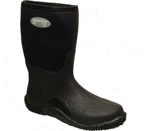 """superior Boot Co. 11"""" Mud Boot (men's) - Black Neoprene"""