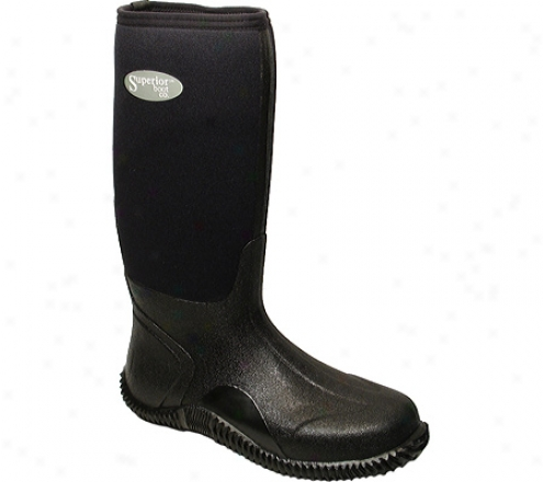 """superior Boot Co. 16"""" Neoprene Profit (men's) - Black"""