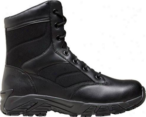 """terra Perimeter 8"""" (men's) - Black Leather"""