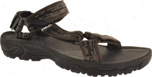 Teva Hurricane Xlt (men's) - Sharp Waves Brown