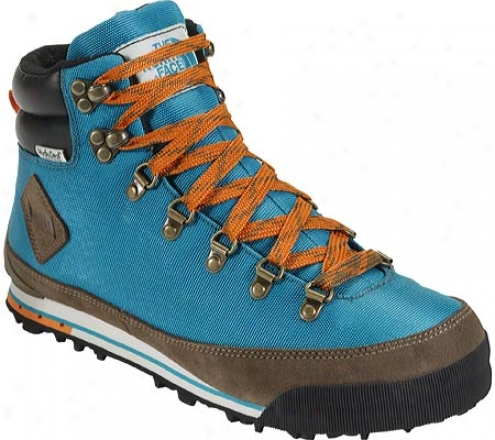 The North Face Back To Berkeley Boot (men's) - Flamenco Blue/satsuma Orange