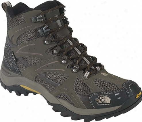 The North Face Hedgehog Tall Gtx Xcr Iii (men&#039;s) - Weimaraner Brown/algae Yellow