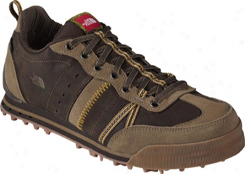 The North Face Snow Sneaker (men's) - Coffee Brown/yellow Fennel