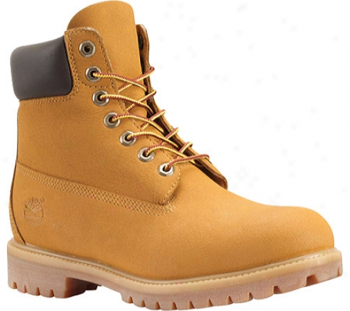 """timberland 6"""" Premium Scuffproof (men's) -  Wheat"""