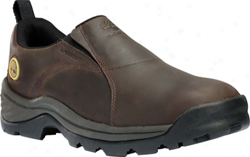 Timberland Chocorua Trail Slip-on Waterproof (men's) - Dark Brown Full Grain Leather