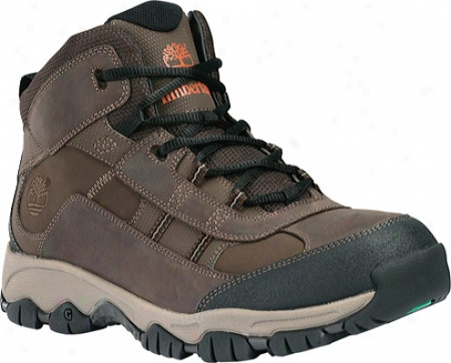 Timberland Border Trail Mid (men's) - Dark Brown Leather