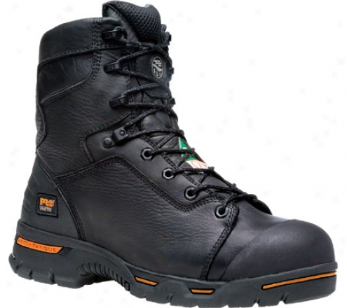 """timberland Endurance Pr 8"""" Waterproof Steel Toe (men's) - Wicked Full Grain Leather"""