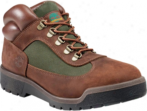 Timberland Field Boot Leather/fabric (mens) - Chocolate