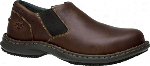 Timberland Gladstone Esd Steel Toe Slip-on (men's) - Brown Full Grain Leather