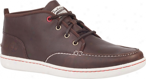 Timberland Newmarket Cupsole Hs Chukka (men's) - Dark Brown Smooth Leather