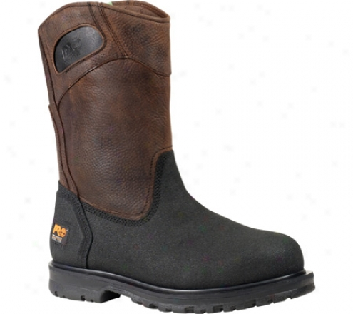 Timberland Powerwelt Wellington Steel Toe (men's) - Rancher Brown Oiled Full Graun Leather
