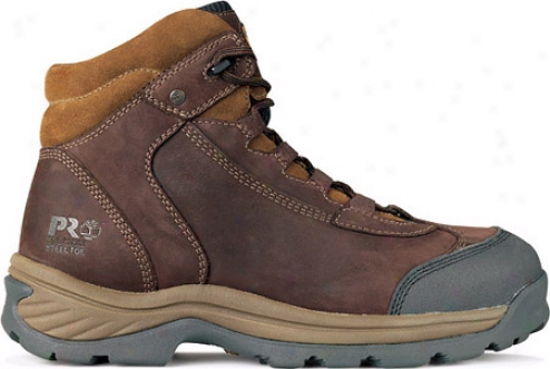 Timberland Ratchet Steel Toe (men's) - Chocolate Oiled Nubuck