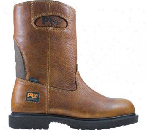 Timberland Tita nHeavy Duty Wellington Wp (men's) - Brown Wp Oiled Leather