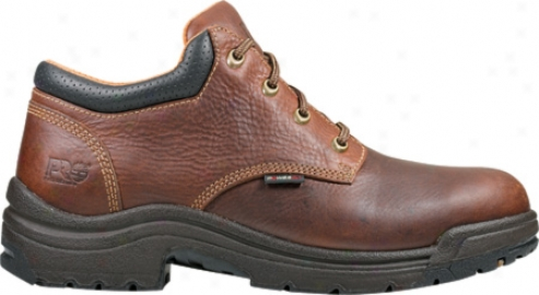 Timberland Titan Oxford Gentle Toe (men's) - Haystack Brown Oiled Leather