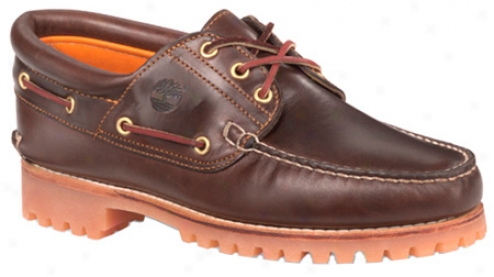 Timberland Traditional Handsewn 3-eyelet Classic Lug (men's) - Brown Pull Up Leather