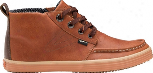 Tretorj Obo Gtx Leafher (men's)) - Brown