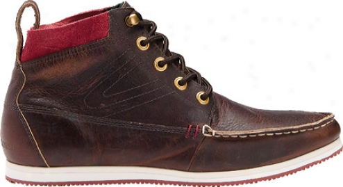Tretorm Walden Boot Leather (men's) - Put glass in  Brown/fiery Red