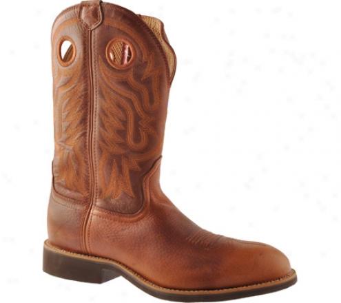 Twisted X Boots Mcr0001 (men's) - Cognac Glazed Pebble/cognac Leather