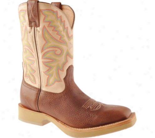 Twisted X Boots Mhm0008 (men's) - Beige Glazed Pebble/beige Leather