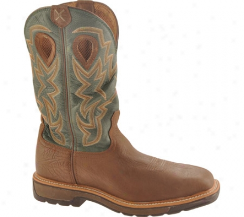 Twisted X Boots Mlcsw01 (men's) - Distressed Shoulder/green