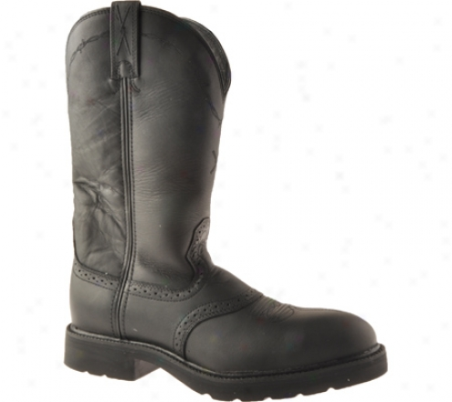 Twisted X Boots Msc0003 (men's) - Black Oiled/black Leather