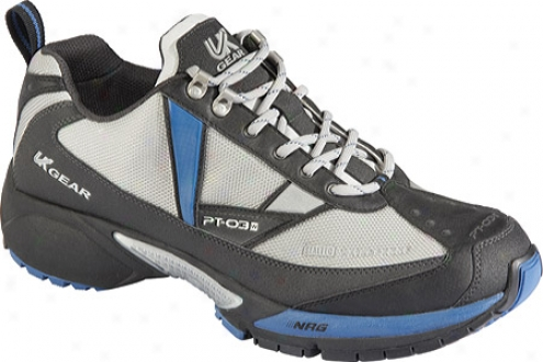 Uk Gear Pt-03 Winter (men's) - Black/charcoal/silver/athes Blue